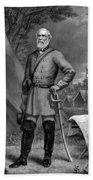 General Robert E Lee Beach Towel by War Is Hell Store