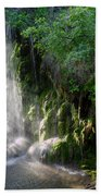 Gormon Falls Colorado Bend State Park.  Beach Towel