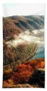 Grandview New River Gorge Beach Towel