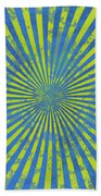 Grunge Swirl Beach Towel