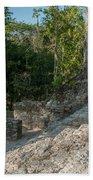 Grupo Coba At The Coba Ruins  Beach Towel