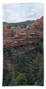 Hiking The Mesa Trail In Red Rocks Canyon Colorado Beach Towel