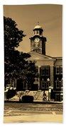 Historic White Hall - Tuskegee University Beach Towel