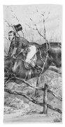 Horserider, C1840 Beach Towel