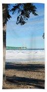 Icy Beach Towel