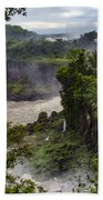 Iguazu Falls - South America Beach Towel
