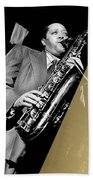 Lester Young Collection Beach Towel