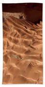 Light And Shadow In Mud Beach Towel