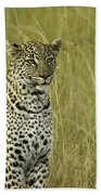 Lovely Leopard Beach Towel