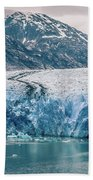 Magnificent Sawyer Glacier At The Tip Of Tracy Arm Fjord Beach Towel