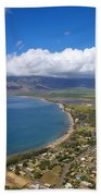 Maui Aerial Beach Towel