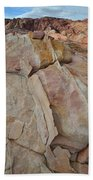Morning In Valley Of Fire State Park Beach Towel