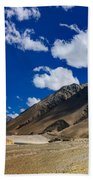 Mountains Of Ladakh Jammu And Kashmir India Beach Towel