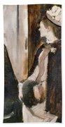 Mrs Jeantaud In The Mirror  Beach Towel
