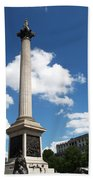 Nelsons Column Beach Towel