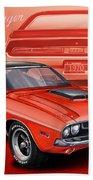Dodge Challenger 1970 R/t Beach Towel