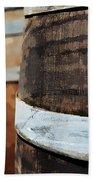 Oak Wine Barrel Beach Towel
