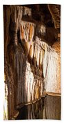 Onondaga Cave Formations Beach Towel