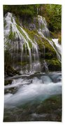 Panther Creek Falls Beach Towel