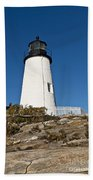Pemaquid Point Light Beach Towel