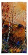 3 Poplars Beach Towel