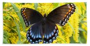 Red-spotted Purple Beach Towel