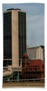 Richmond Virginia Architecture Beach Towel