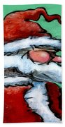 Santa Claus Beach Towel