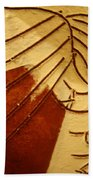 Solemn - Tile Beach Towel