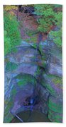 Starved Rock Ill, Beach Towel