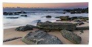 Sunrise And The Sea Beach Towel