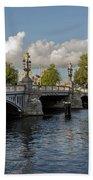 The Bridges Of Amsterdam Beach Towel