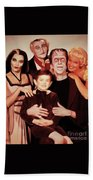 The Munsters Beach Towel
