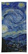 The Starry Night Beach Sheet