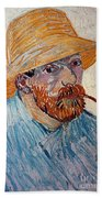 Vincent Van Gogh Beach Sheet