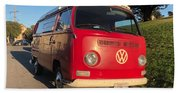 Volkswagen Bus T2 Westfalia Beach Towel