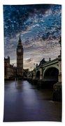 Westminster Bridge Beach Towel