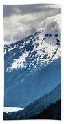 White Pass Mountains In British Columbia Beach Towel