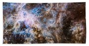 30 Doradus - Tarantula Nebula 8  Beach Sheet
