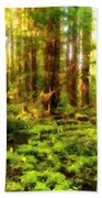 G H Landscape Beach Towel
