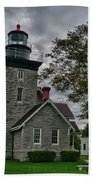 30-mile Point Lighthouse 3197 Beach Towel