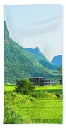 Rural Scenery In Summer Beach Towel