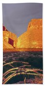 317828 Sunrise On Santa Elena Canyon  Beach Towel