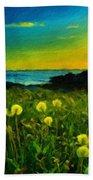 Nature Art Landscape Beach Towel