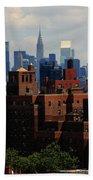 New York City Skyline 3 Beach Towel