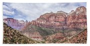 Zion Canyon National Park Utah Beach Towel