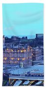 Edinburgh, Scotland Beach Towel