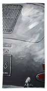 356 Porsche Rear Beach Towel