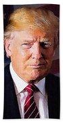Donald Trump Beach Sheet