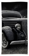 36 Ford Five Window Beach Towel